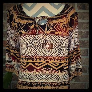 Thrifty Hippie blouse